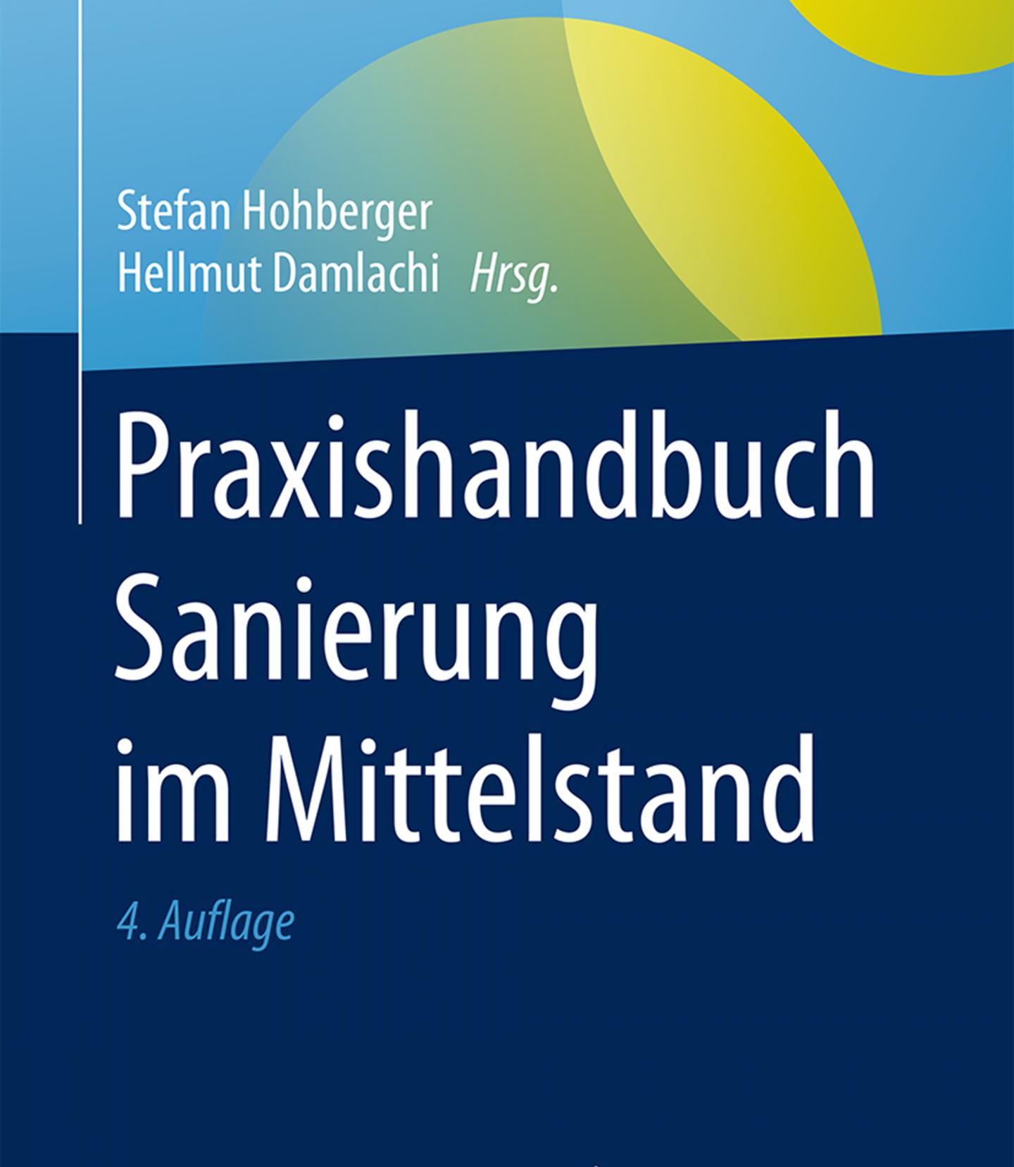 Buchcover Praxishandbuch Sanierung im Mittelstand