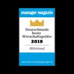 """Zertifikat """"Deutschlands beste Wirtschaftsprüfer 2018"""""""