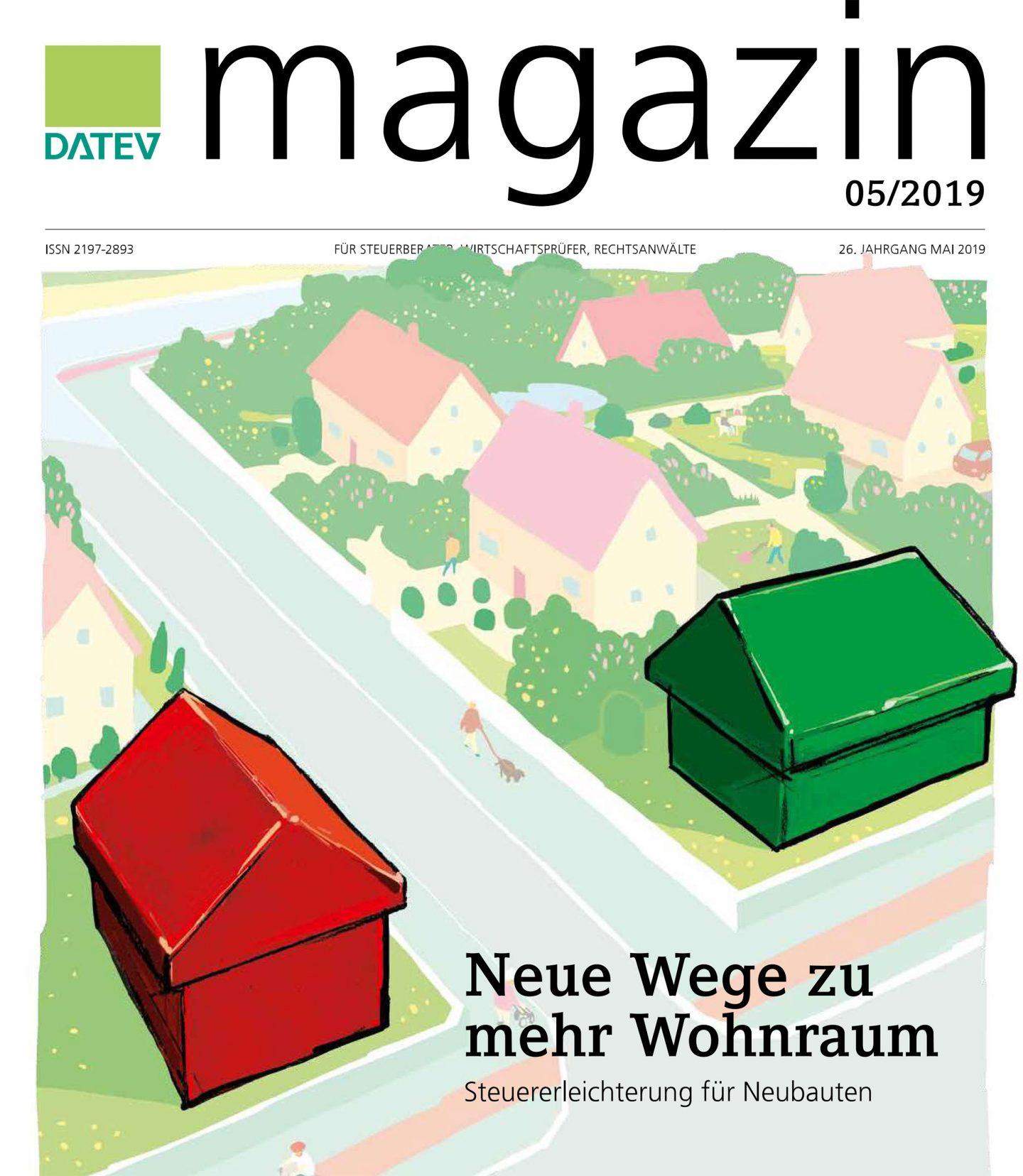 Datev-Magazin Cover